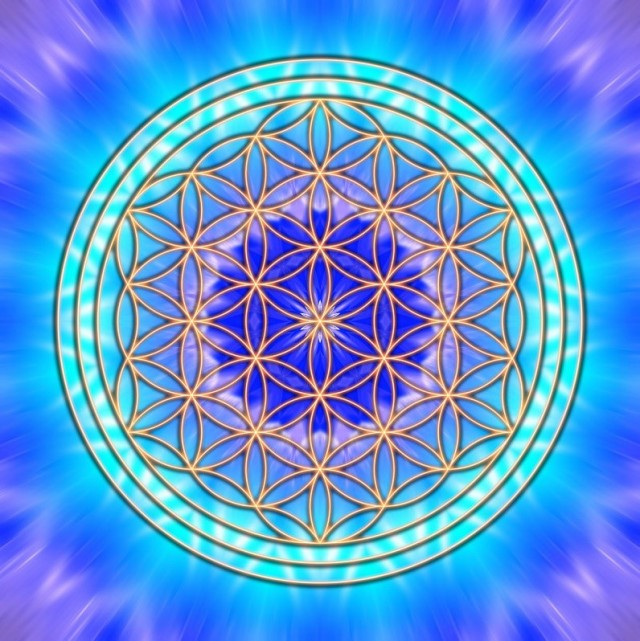 Meditate on the Flower of Life